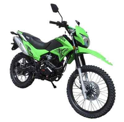 250CC HAWK 250 ENDURO DIRT BIKE
