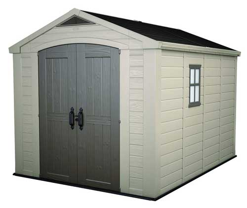 Keter Factor Large Outdoor Shed