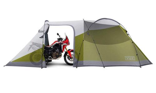 Vuz Moto Waterproof Motorcycle Tent – Bike Camping Shelter