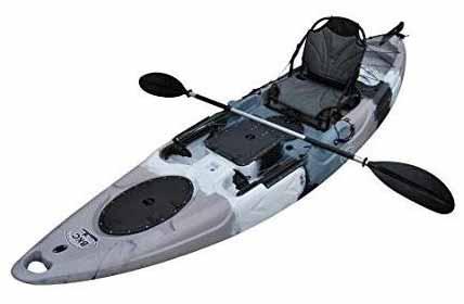 BKC RA220 11.6 inch Single Fishing Kayak