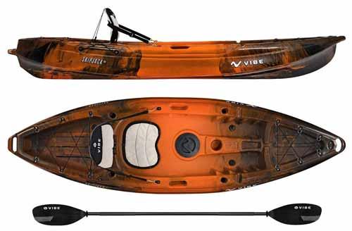 Vibe Kayaks Skipjack Fishing Kayak